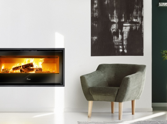 Fireplace stoves - Gold