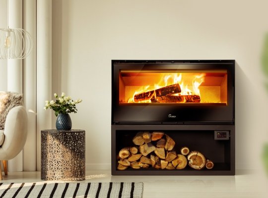 Freestanding stoves - Rock plus