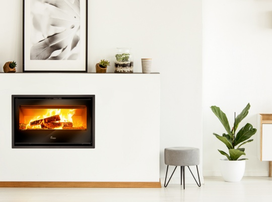 Fireplace stoves - Silver