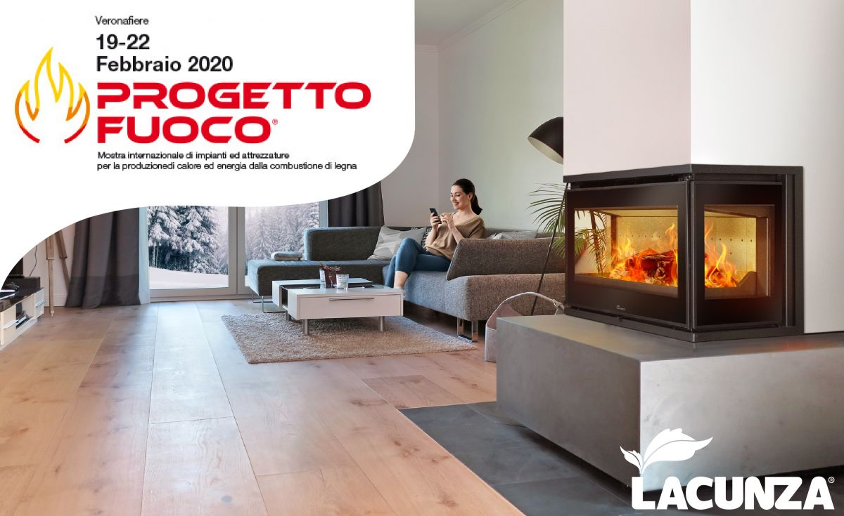 LACUNZA at the Progetto Fuoco 2020 trade fair